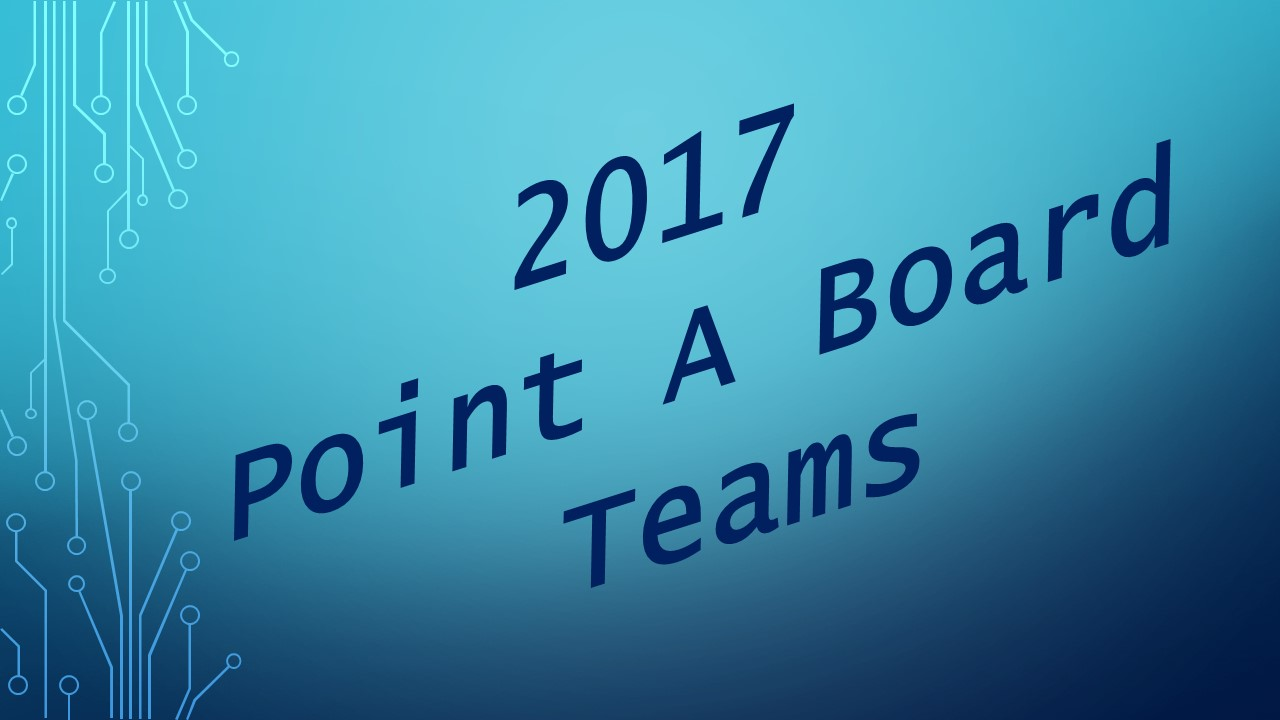 Point A Board Teams 2017