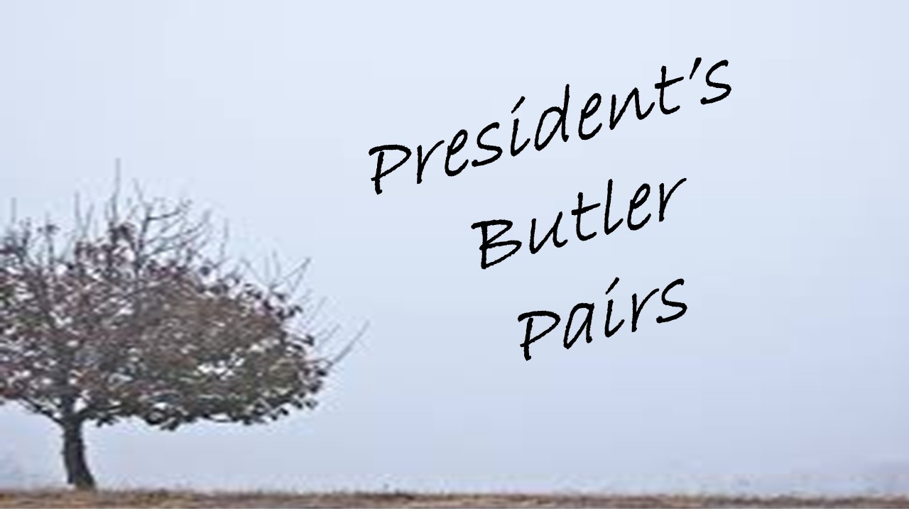 Presidents Butler Pairs