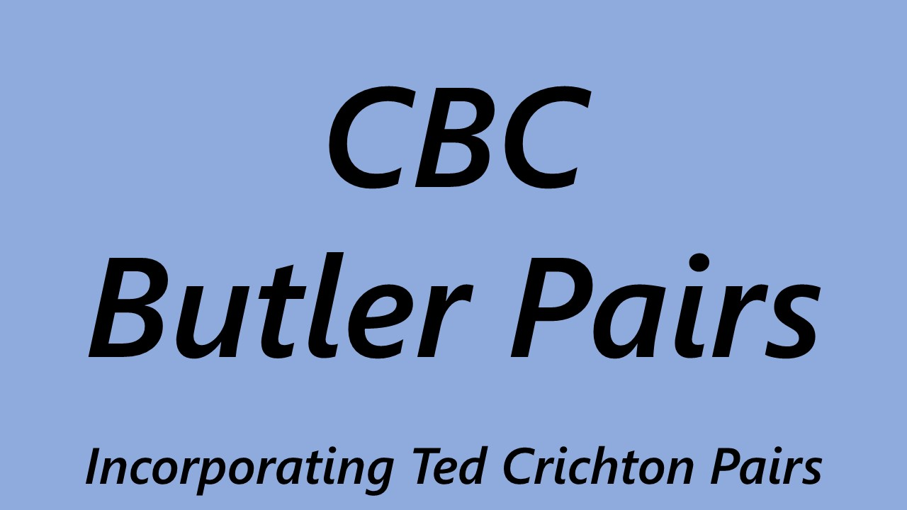 CBC Butler Pairs