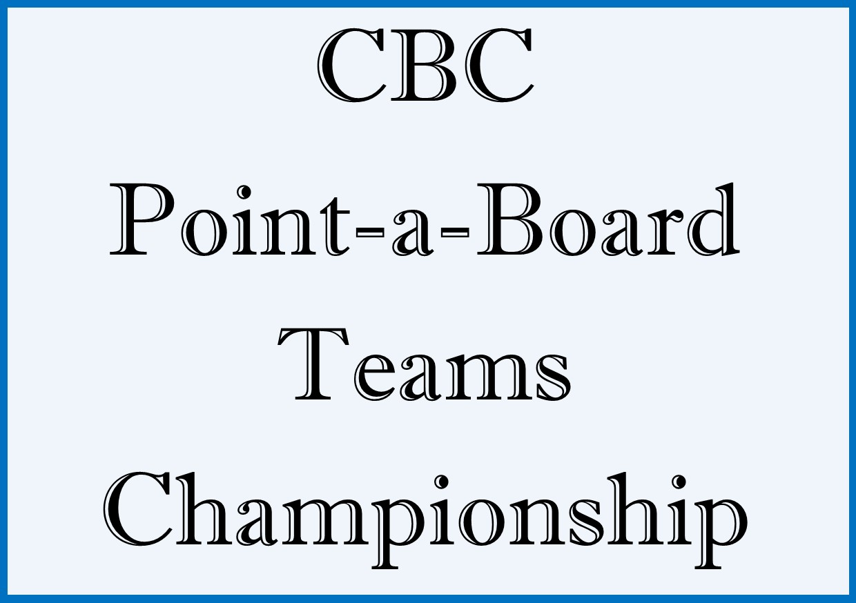 CBC Point a Board Teams Championship