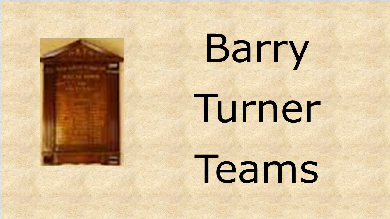 Barry Turner Teams